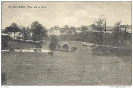 BODANGE ..-- Pont Sur La Sûre . Vers Melle E. PILGRIM . Voir Verso . - Fauvillers
