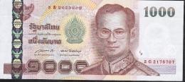 THAILAND P115j 1000 BAHT  2005  Signature 85   AU-UNC. - Thailand
