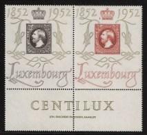 1952, Ausstellung, Paar Mit Rand! Mi. 120,- +  , #4993 - Luxemburg