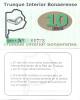 TRUEQUE INTERIOR BONAERENSE - MONEDA DE RED DE TRUEQUE (TROCO) CANJE DE MERCADERIAS Y-O SERVICIOS 10 CREDITOS - Argentine