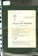 Doodsbrief ( 115 )  Familie  De Meester / Engelbeen / Hoemaeker / Borrem    -  Waereghem  Waregem 1941 - Décès