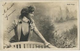 Marville Du Moulin Rouge Femme Habillée En Homme Travesti - Artisti