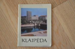Soviet Union Period  Book About Klaipeda Memel Lithuania  1972 - Books, Magazines, Comics