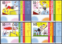 GERMAY, 2011, Womens Soccer World Championships, Germany, Football, Sports, MNH (**), Sc/Mi B1047-50/2857-60 - Ongebruikt