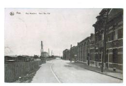 T32 Cpa LIEGE / LUIK : Rue Montfort , Gare Ans Est ! 1925  TOP !! - Ans