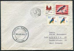 1972 South Africa Cape Town Ship Cover Rotterdam NEDLLOYD KYOTO Koninklijke Nedlloyd Nv - South Africa (1961-...)