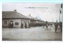 10280   Cpa  CAMP D´ELSENBORN ; Distribution De La Soupe - Elsenborn (camp)