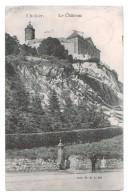 10286   Cpa  CHOKIER : Le Chateau  1912 - Flémalle