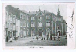 10287   Cpa  HERVE  : L'Hospice  , Précurseur 1906 !     ACHAT DIRECT !!! - Herve