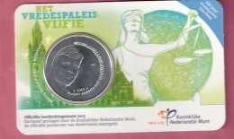 NEDERLAND COINCARD 5 EURO 2013 HET VREDESPALEIS VIJFJE - Pays-Bas