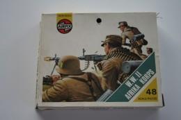 Airfix WW2 Afrika Korps, Scale HO/OO, Vintage - Figurines