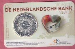 NEDERLAND COINCARD 5 EURO 2014 HET NEDERLANDSCHE BANK VIJFJE - Pays-Bas