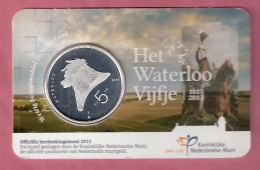 NEDERLAND COINCARD 5 EURO 2015 HET WATERLOO VIJFJE - Pays-Bas