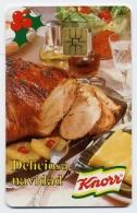 Knorr Recette Verso Alimentation  Télécarte Phonecard R369 - Venezuela