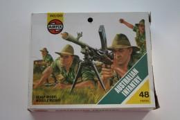 Airfix WW2 Australian Infantry, Scale HO/OO, Vintage - Figurines