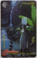 SAINT LUCIA - GPT - 22CSLC - $10 - STL-22C - Diamond Falls - Mint - Saint Lucia