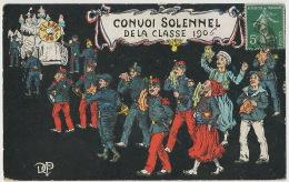 Convoi Classe 1906 Corbillard Père Cent Zouave Marin Alpin  Fort National Algérie Vers Cantonnier à Neufchatel En Bray - Humoristiques