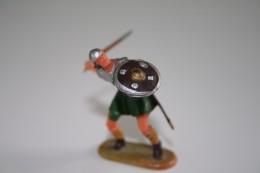 Elastolin, Lineol Hauser, H=40mm, Norman, Plastic - Vintage Toy Soldier - Figurines