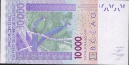 W.A.S. H = NIGER 618Ho 10000 Or  10.000 FRANCS (20)15 Dated (20)15  UNC. - Niger