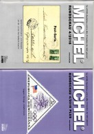 MICHEL Briefmarken Rundschau 4/2016 Sowie 4/2016-plus Neu 12€ New Stamps/coin Of The World Catalogue/magacine Of Germany - Deutsch