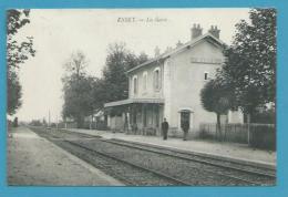 CPA - Chemin De Fer Cheminots La Gare ESSEY Canton POUILLY EN AUXOIS 21 - France
