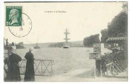 76 - La Seine à LA BOUILLE - CPA - La Bouille