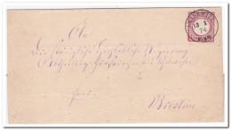 Leisewitz 13 1 74 Nach Breslau - Brieven En Documenten