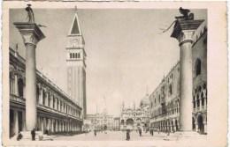 Cpa   VANEZIA PIAZZETTA S MARCO E CAMPANILE - Venezia