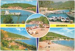 Croatia - 1981 - 5,60 Travnik - Pozdrav Iz Drvenika - Viaggiata Da Drvenik Per Garges-lès-Gonesse, France - Croazia