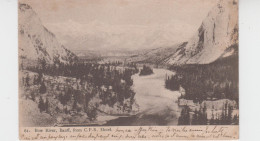 BOW RIVER - BANFF - FROM C.P.R. HOTEL - Banff
