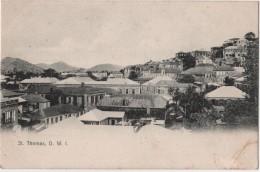CPA Saint THOMAS Virgin Islands Danish West Indies Lightbourn's Series 19 - Vierges (Iles), Amér.