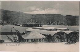 CPA Saint THOMAS Virgin Islands Danish West Indies Lightbourn´s Series 1 - Vierges (Iles), Amér.