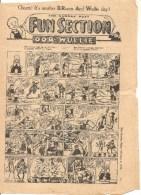 The Sunday Post Fun Section OOR WULLIE February 4 De 1951 - Bücher, Zeitschriften, Comics