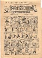 The Sunday Post Fun Section OOR WULLIE March 25 De 1951 - Bücher, Zeitschriften, Comics