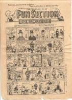 The Sunday Post Fun Section OOR WULLIE January 28 De 1951 - Bücher, Zeitschriften, Comics