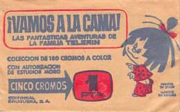 VAMOS A LA CAMA ! - Lote De 8 Paquetes De 5 Cromos Sin Abrir - LA FAMILIA TELERIN  - EDITORIAL BRUGUERA  AÑO 1965 - Otros
