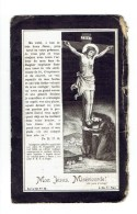 775 ( 2 Scans ) Amelie Vanherpe  Nee à Llezelles 1833 + 1906 - Images Religieuses