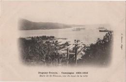 CPA Campagne Du DUGUAY TROUIN 1905 Saint THOMAS DWI La Rade  Geiser Alger - Vierges (Iles), Amér.