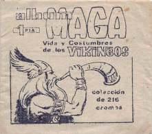 Vida Y Costumbres De Los Vikingos - Editorial Maga 1965 -  Lote De 3 Sobres Sin Abrir - Vers Los 6 Scan - Otros