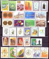 Algérie- Année Complète 2014 - Timbres De Qualité Avec Oblitérations Centrales Rondes. - Algerien (1962-...)