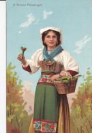 ROME , Italy , 00-10s ; A Roman Flower-girl ; TUCK - Roma (Rome)