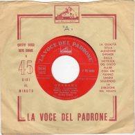 """La Voce Del Padrone - 45 Giri  - Mario Lanza - Lato """"A"""" - Granada - Lato """"B"""" - Lolita - - Vinyl Records"""