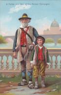 ROME , Italy , 00-10s ; Father & Son Of The Roman Campagna ; TUCK - Roma (Rome)