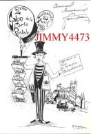 CPM - MONTPELLIER 34 Hérault - 2è SALON DE LA CARTE POSTALE 1986 - Carte Numérotée - Scans Recto-Verso - Dessin JEANJEAN - Bolsas Y Salón Para Coleccionistas