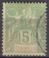 Gabon 1904 Yvert#19 Used - Gebruikt