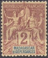 Madagascar 1896 Yvert#29 MNG - Ungebraucht