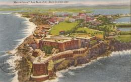 V-PUERTO RICO-MORRO CASTLE - Cartoline