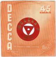"""DECCA - 45 Giri -Ruggero Ricci ( Violinista)- Lato """"A"""" - La Campanella - Lato """"B"""" -Moto Perpetuo - - Other - Italian Music"""