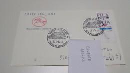2scans Really Sent FDC Lettera Viaggiata Filatelia Hobby Senza Età 1° Annullo Primo Giorno Emissione ITALIA 1992 Italy - Filatelia & Monete