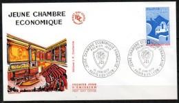 FDC Dept 75 PARIS Jeune Chambre économique 1977 - 1970-1979